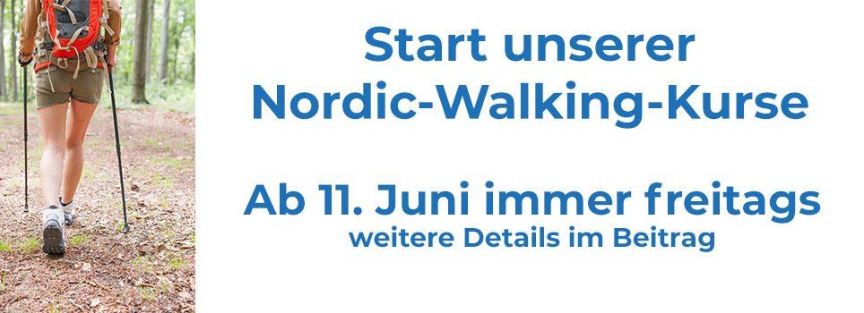 Nordic Walking Kurse starten wieder